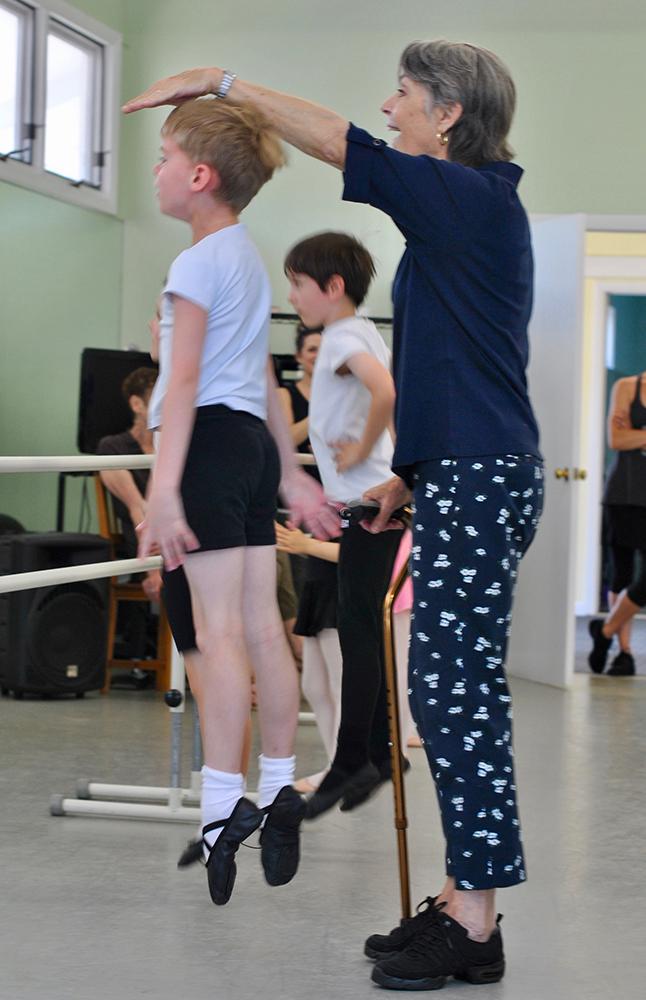 Boys Ballet Class Lesson
