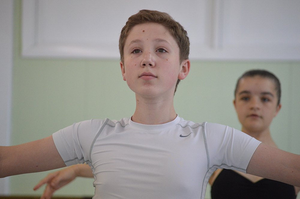 Boys Ballet Class