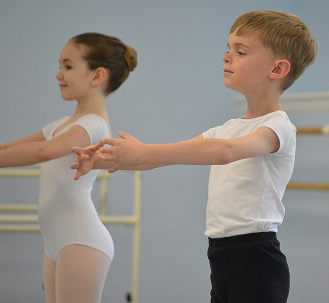 Young Children's Program - Ballet Classes at ECB
