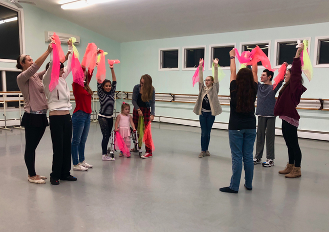 Adapative Dance Program at Eastern Connecticut Ballet in East Lyme, Connecticut