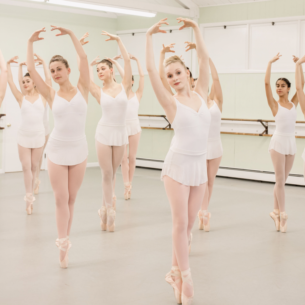 Ballet Class Pose at Eastern Connecticut Ballet
